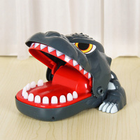 Tricky series toys Biting dinosaur practical jokes office stress relief fun toy prank toys snap on smile funny gift casimeritos