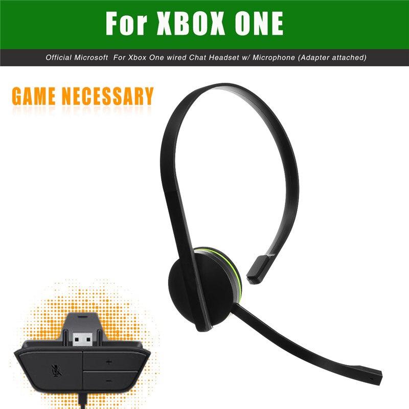 Para Xbox One Game Accesorio 120cm Auriculares de chat Auriculares - Juegos y accesorios