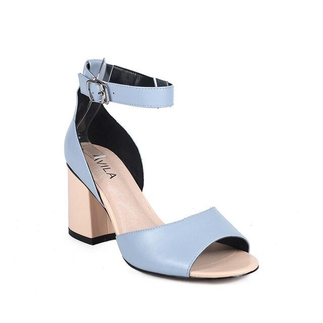 Женские босоножки; женская обувь на каблуке; женская летняя обувь из искусственной кожи AVILA RC702_AG020014-16-1-2; женские сандалии на танкетке