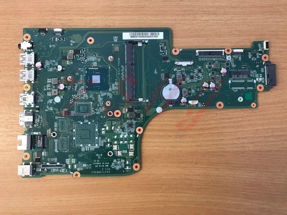 NBMZS11004 For font b ACER b font ES1 731 Laptop Motherboard NB MZS11 004 DAZYLBMB6E0 W