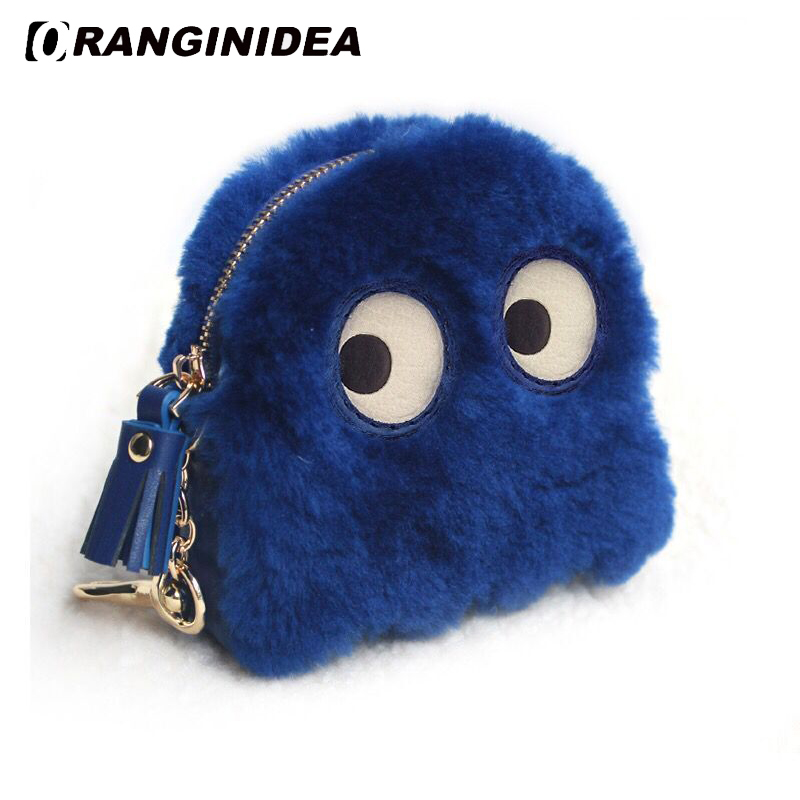 Wool Coin Purse for Women Cute Clutch Bags Lady Small Lovely Cartoon Handbags Female Mini Wallets Bag Accessories Wool Coin Purse for Women Cute Clutch Bags Lady Small Lovely Cartoon Handbags Female Mini Wallets Bag Accessories