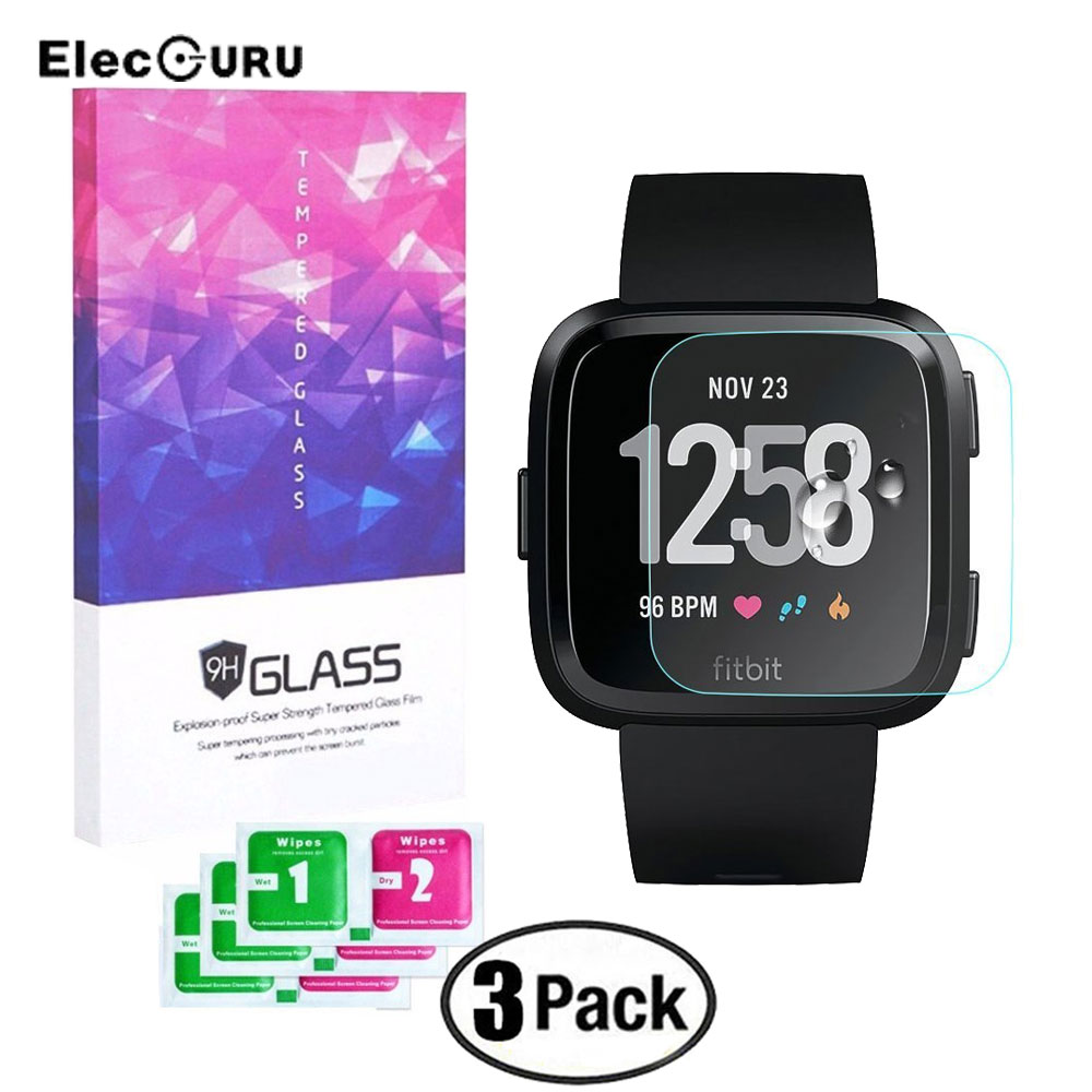 For Fitbit Versa Smart Watch Screen Protector Full Cover