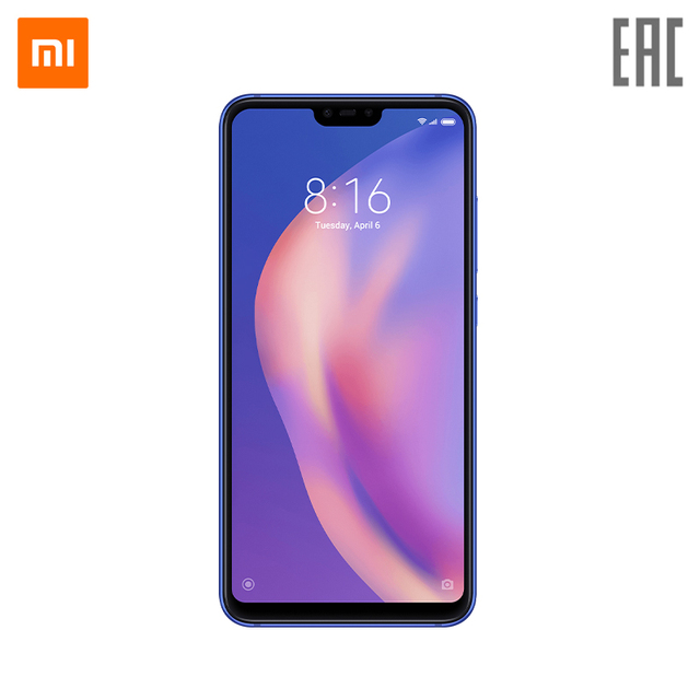 Смартфон Xiaomi Mi8 Lite 4 + 64 ГБ 24 Мп селфи камера Sony Процессор Qualcomm Snapdragon 660 AIE