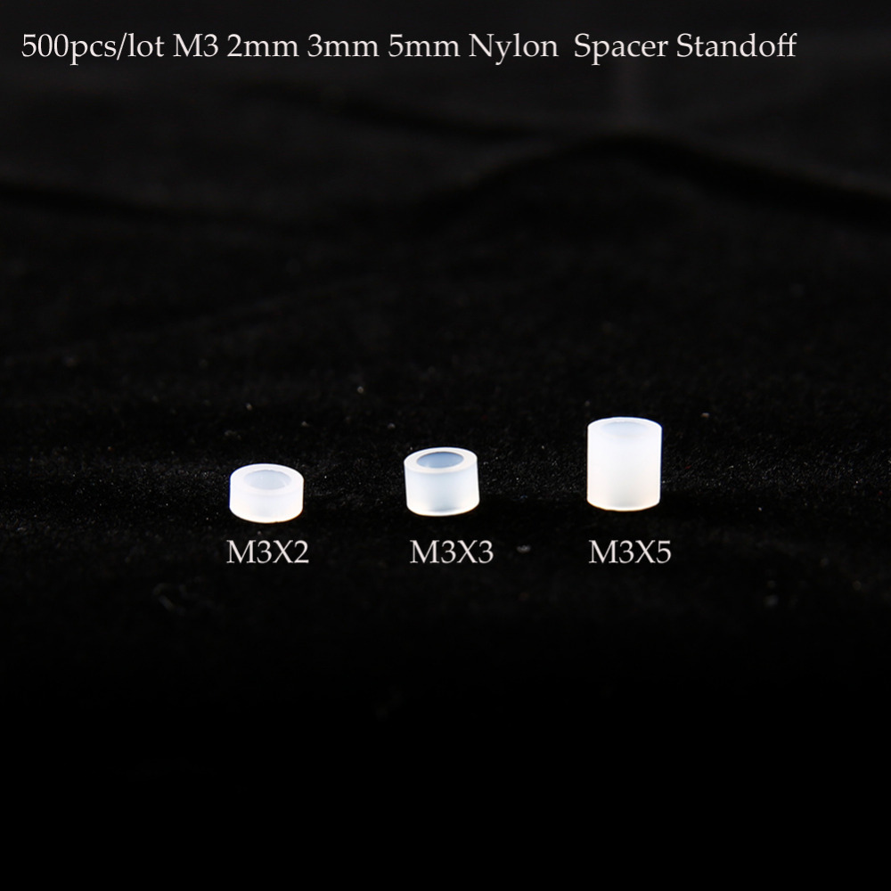 Parts & Accessories 100% True 500pcs/lot M3x2 M3x3 M3x5 M3 2mm 3mm 5mm Non-threaded Spacer Abs Round Hollow Standoff Round Washer For Fpv Racing Drones Kit Toys & Hobbies