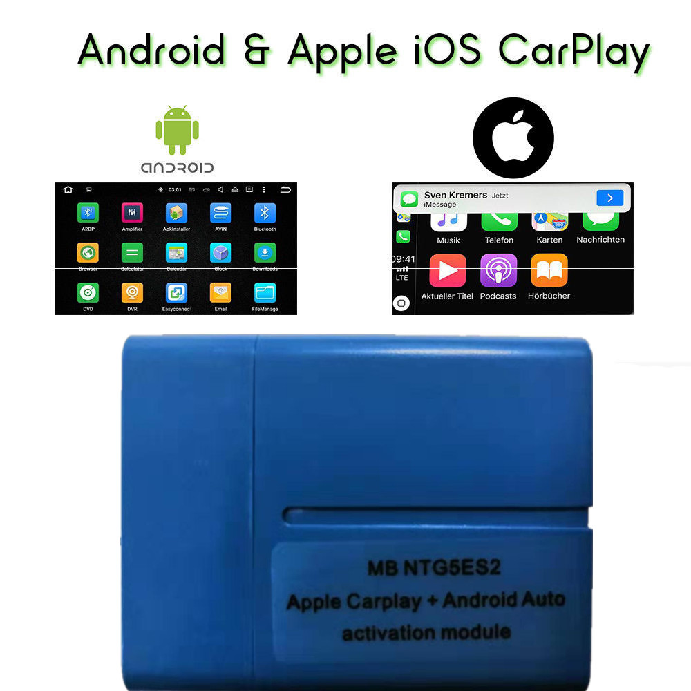 Auto-Activation-Tool C-Class Carplay Android W205 Ntg5 S2 Mercedes-Benz FOR Via OBD W253/Glc/Perfect-working