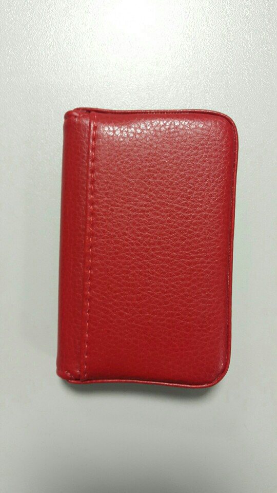 2019 Men And Women Leather Business Name Card Holder Case Wallet Credit Book with Magnetic Shut Protector Holder Purse Wallet photo review