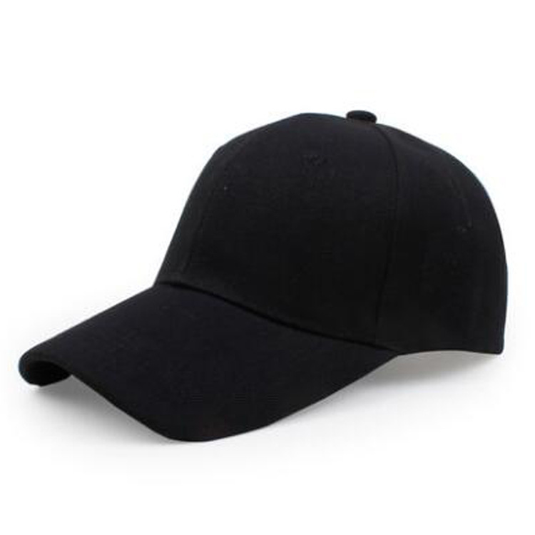Drop Ship Baseball Cap DIY Custom Made Logo Casquette Hat Unisex Adjustable Caps Hip Hop Snapback Cap