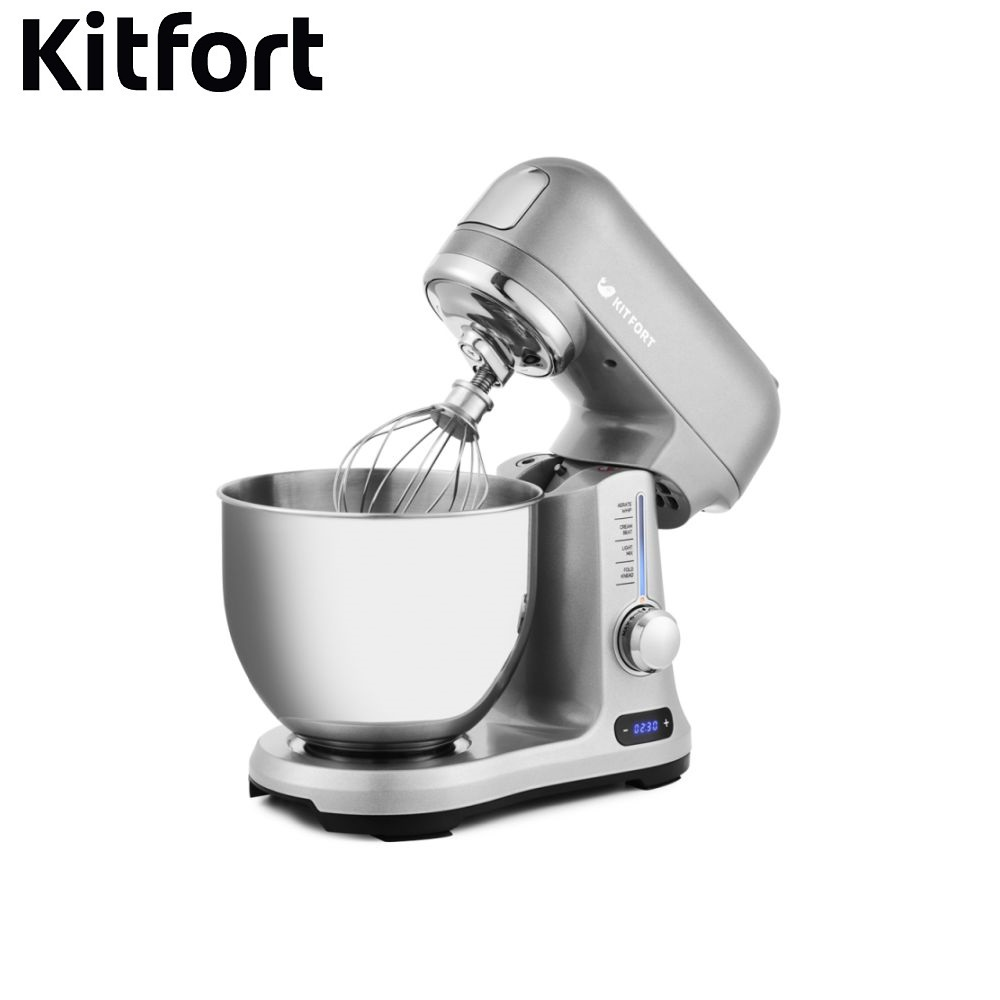 Mixer planetary Kitfort KT-1357 Food Mixer electric kitchen Cocktail shaker mixers Household appliances for kitchen Mixer manual ir 5409 mixer household mini handheld electric for whipping in a cup powered by 2 aa batteries