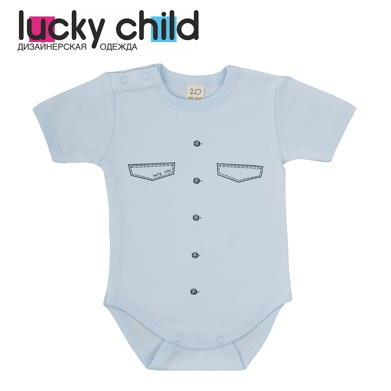 Bodysuits Lucky Child for boys 3-30 Body Newborns Babies Baby Clothing Children clothes
