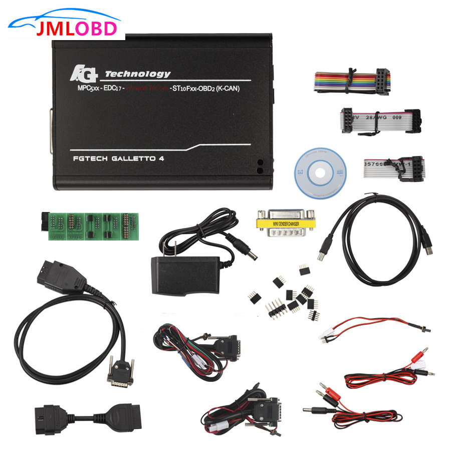 купить 2018 New Galletto V54 FGTech Galletto 4 Master BDM-OBD Function FGTech ECU Program Auto Diagnostic Scanner по цене 3294.48 рублей