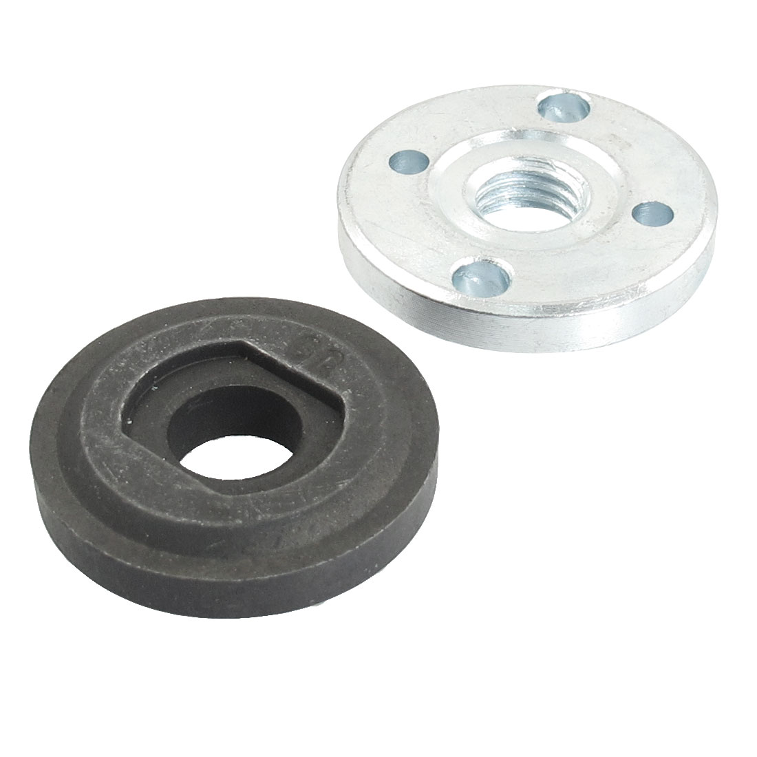 UXCELL 2 Pcs/lot Round Clamp Inner Outer Flange 12mm 14mm Angle Grinder Spare Part For GWS20-180