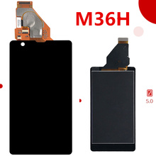100% Tested For SONY Xperia ZR Display with Touch Screen Digitizer Assembly Display For SONY Xperia ZR LCD M36h C5502 C5503 все цены