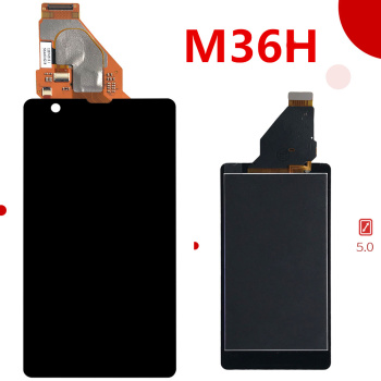 100% Tested For SONY Xperia ZR Display with Touch Screen Digitizer Assembly Display For SONY Xperia ZR LCD M36h C5502 C5503