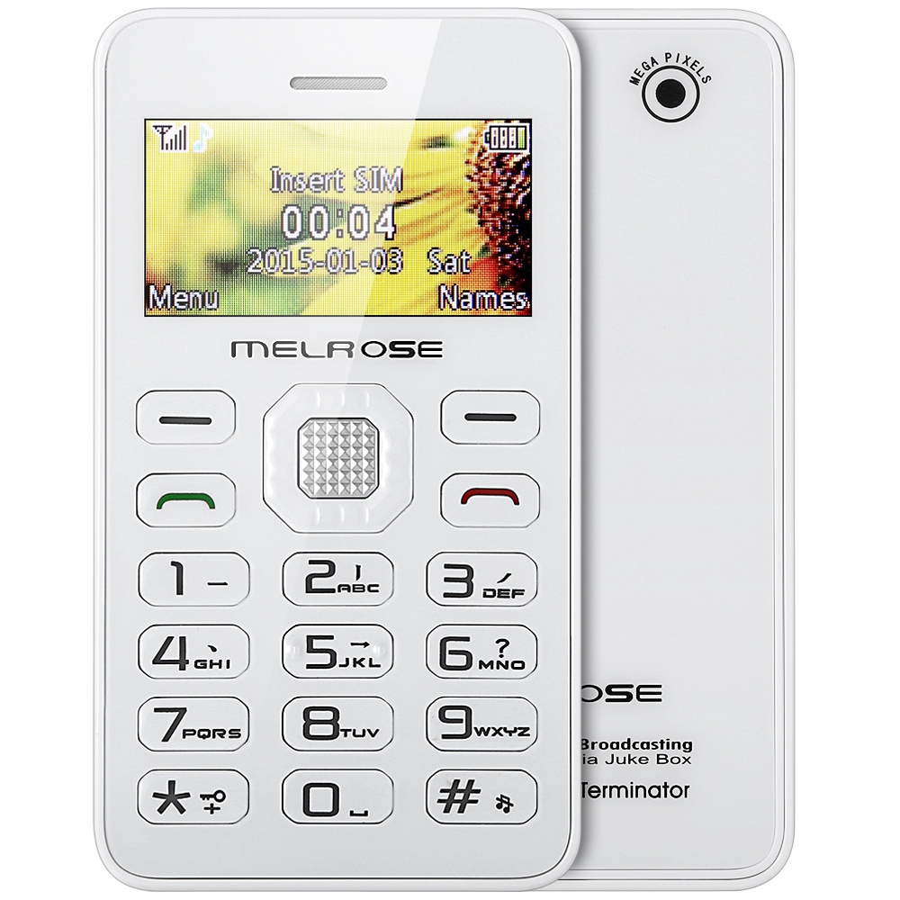 Card Phone Mini Music Pocket Cellphone Fm Mp3 Playback Bluetooth Alarm  Calendar Calculator Mobile Cell Phone