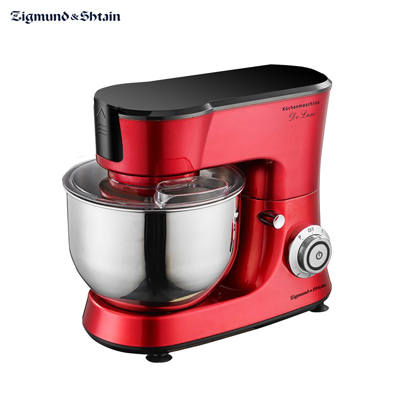 Kitchen machine De Luxe ZKM-990 food processor planetary mixer with bowl Zigmund & Shtain multifunction stainless steel kitchen anti burn bowl dish clip black silver