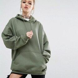 Oversized Hoodies Women 2018 Spring Autumn Fashion Batwing Long Sleeve Women's Hooded Sweatshirts Plus Size 4XL 5XL 2