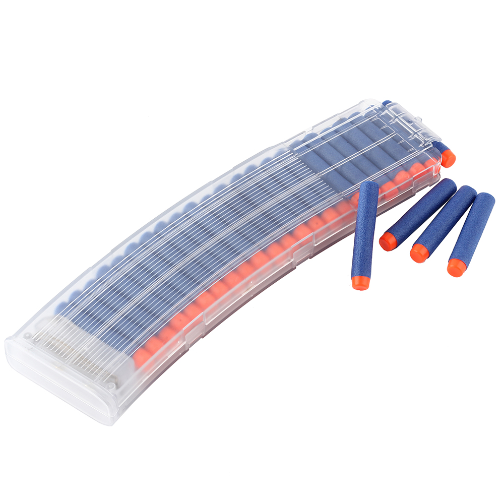 22 Reload Clips Magazines Round Darts Replacement 22 Bullets Ammo Cartridge Dart For Nerf Gun Clips Plastic Magazines Kids Toys