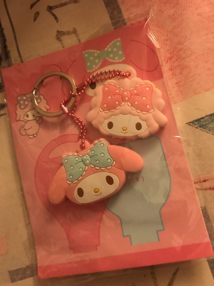 2PCS Kawaii NEW  Rabbit 4CM Rubber KEY Wallet BAG Wallet Holder Hook  Case photo review