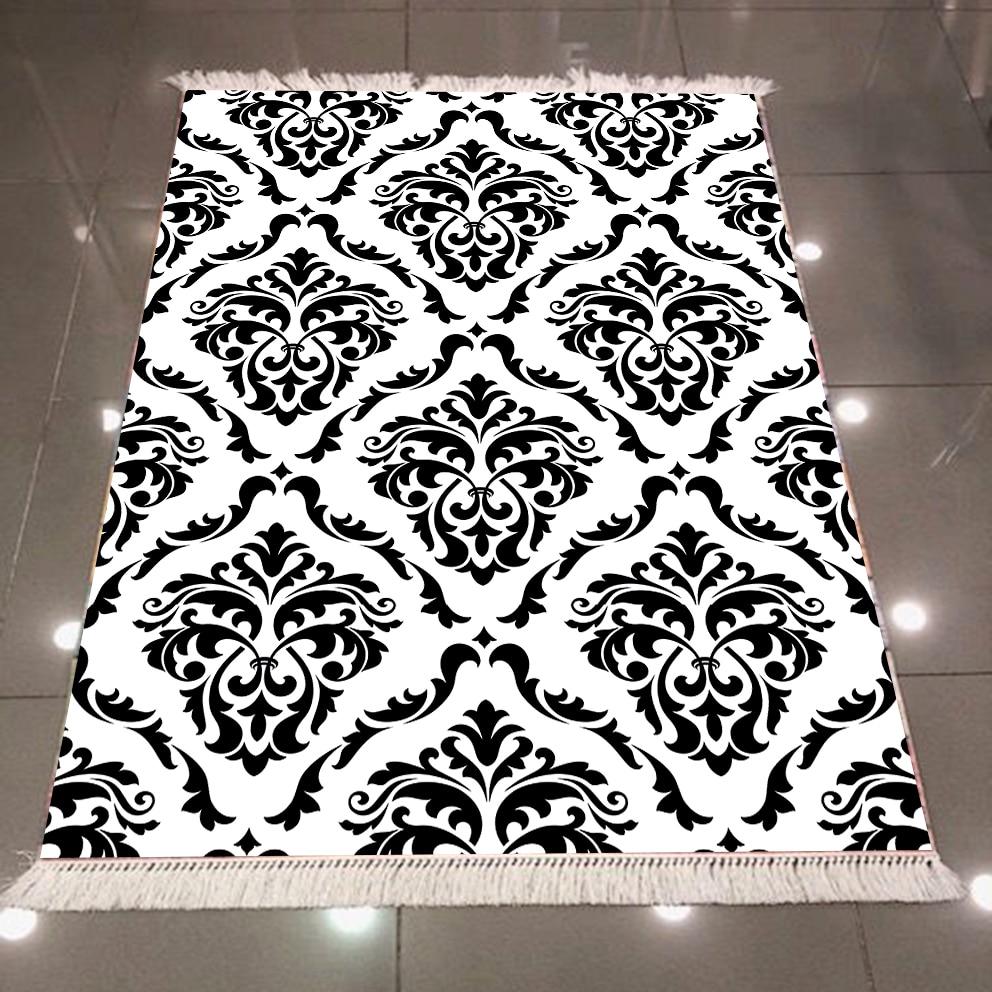 Else Black White Damask Ethnic Vintage