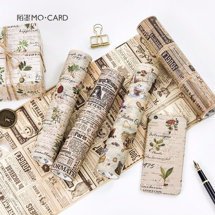 5 pcs/lot DIY Japanese Paper Decorative Adhesive Tape Cartoon Decoration Washi Tape/Masking Tape Stickers 9cmx5m creative life edition washi paper tape 9cm delicacy small objects decorative tape