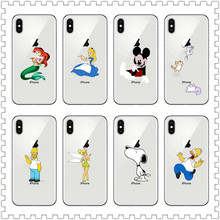 Anime Phone Case For iPhone X 4 4S 5 5S 5C SE 6 6S 7 8 Plus XS  XR  XS MAX Cartoon characters 4 xs page 8