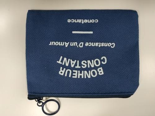 1PC Hot Sale Unisex Card Key Mini Purse Pouch Canvas Bag Small Zipper Coin Purse Card Holder Wallet Four Colors Available photo review