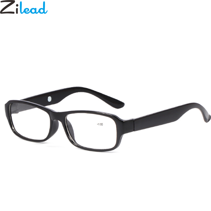 Zilead High Diopter Reading Glasses Ultra Light Clear Lens Eyewear Glasses Presbyopia +2.5 +3.0 +3.5+4.0+4.5+5.0+5.5+6.0