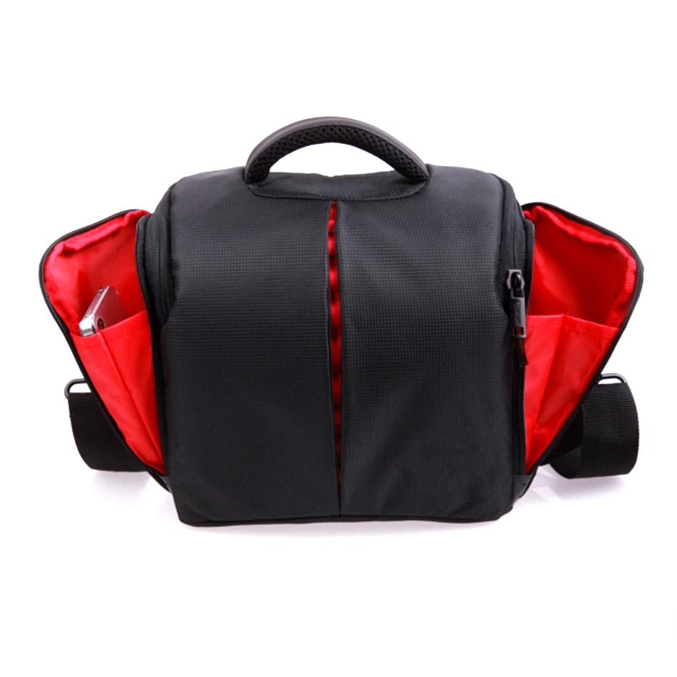 Digital Gear Bags 2018 High Quality Waterproof Camera Bag For Canon 1300d 1100d 1200d 60d 750d Nikon Camera Fotografica Canon Dsrl Nikon Bag Case Attractive Designs;