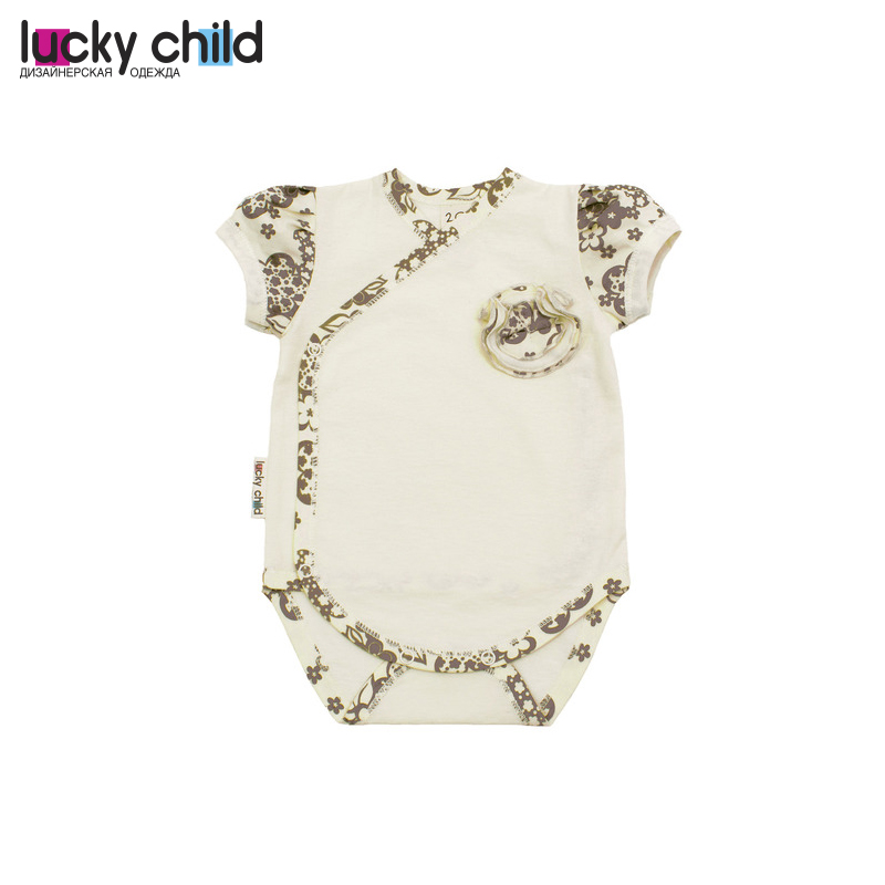 Baby Bodysuits LUCKY CHILD for girls 11-51 Kid clothes npkcollection 40cm silicone reborn baby doll toy lifelike birthday gift for kid child lovely smile newborn girls babies dolls