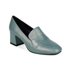 Для женщин насосы Обувь на высоком каблуке офисные туфли-лодочки AstaBella RC616_BG020010-09-2-2 женская обувь из натуральной кожи для женщин