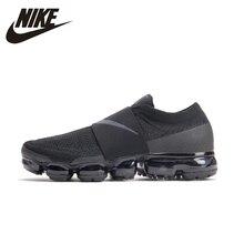 NIKE Air VaporMax Moc оригинальный Для мужчин s кроссовки Сетка воздухопроницаемая комфортная обувь Легкие кроссовки для Мужская обувь # AH3397-004