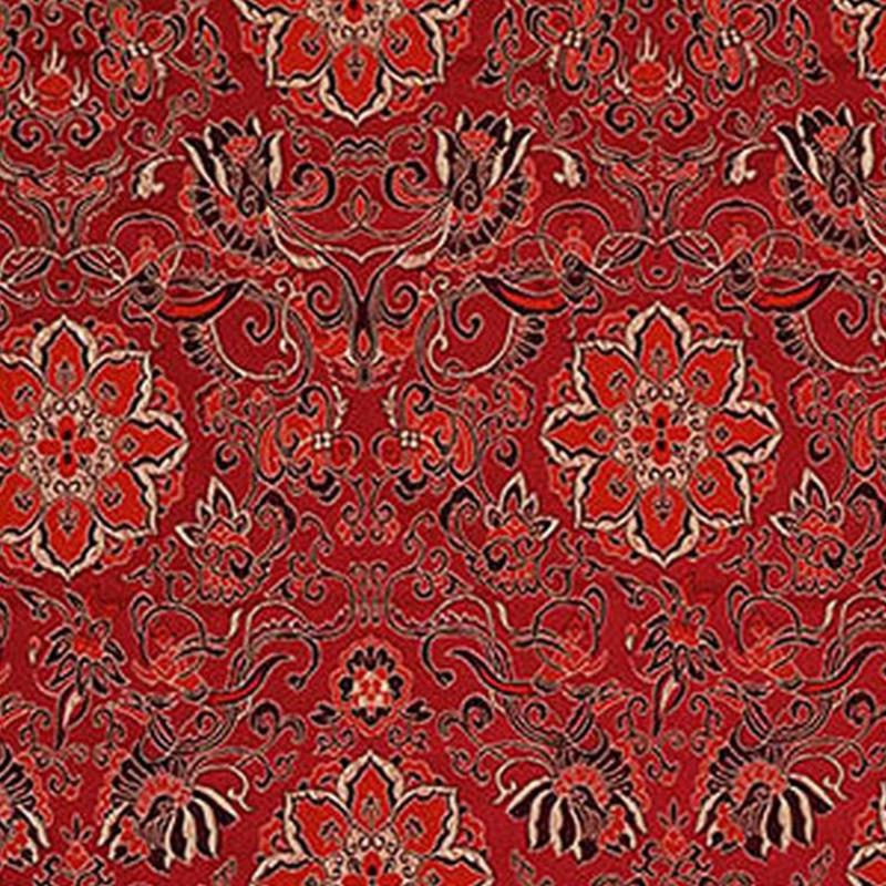 new arrival brocade jacuard flower fabric for patchwork felt tissue telas dress bed sheet children cloth coat cos play 100x75cm