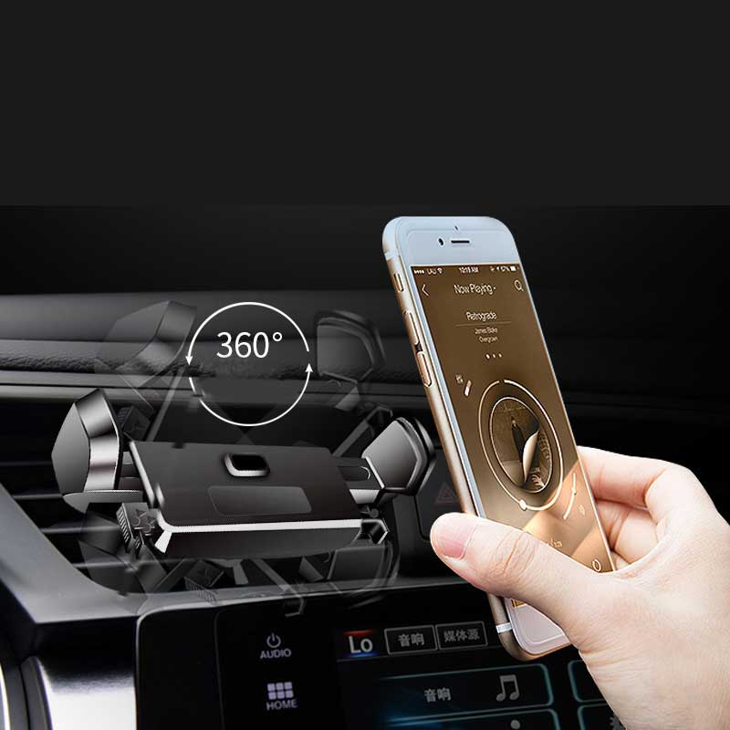 ZASMO Vehicle Outlet Cell Phone Bracket 360-Degree Rotatable Navigation Support Car Idler Bracket For Vehicle Use