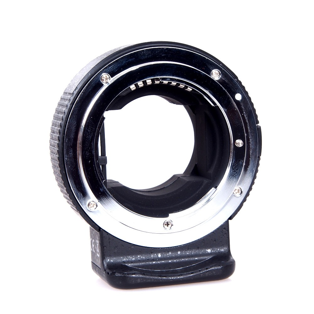 Commlite CM-ENF-E1 Electronic Lens Mount Adapter For Nikon F Lens Sony E-Mount Camera Aperture Control SONY A7 II A7R II A6300 fotga dp500iii uninterrupted v mount bp battery power supply plate for sony a7s a7r a7 ii