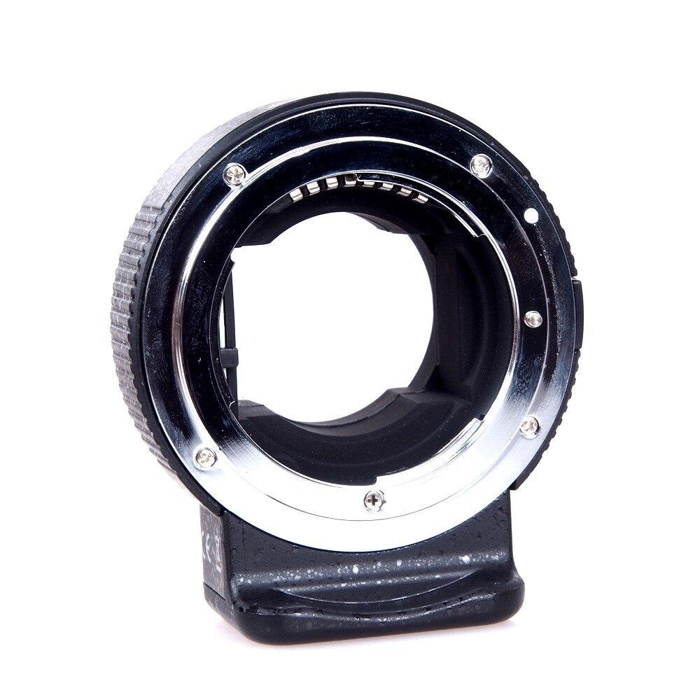 Commlite CM-ENF-E1 Electronic Lens Mount Adapter For Nikon F Lens Sony E-Mount Camera Aperture Control SONY A7 II A7R II A6300 commlite cm ef mft electronic aperture control lens adapter for ef ef s lens m4 3 camera