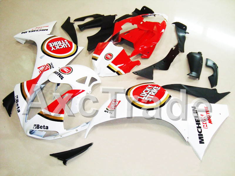 Motorcycle Fairings For Yamaha YZF R1 1000 YZF-R1 YZF-R1000 2009 2010 2011 ABS Plastic Injection Fairing Bodywork Kit Lucky 012