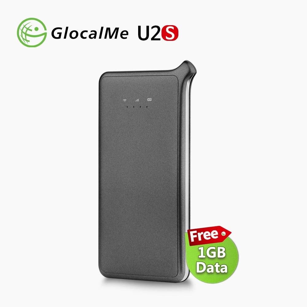 Routeur WiFi GlocalMe 4G U2S itinérance gratuite réseau rapide dans le monde entier routeur WiFi sans fil LTE Portable MiFi avec fente pour carte Sim