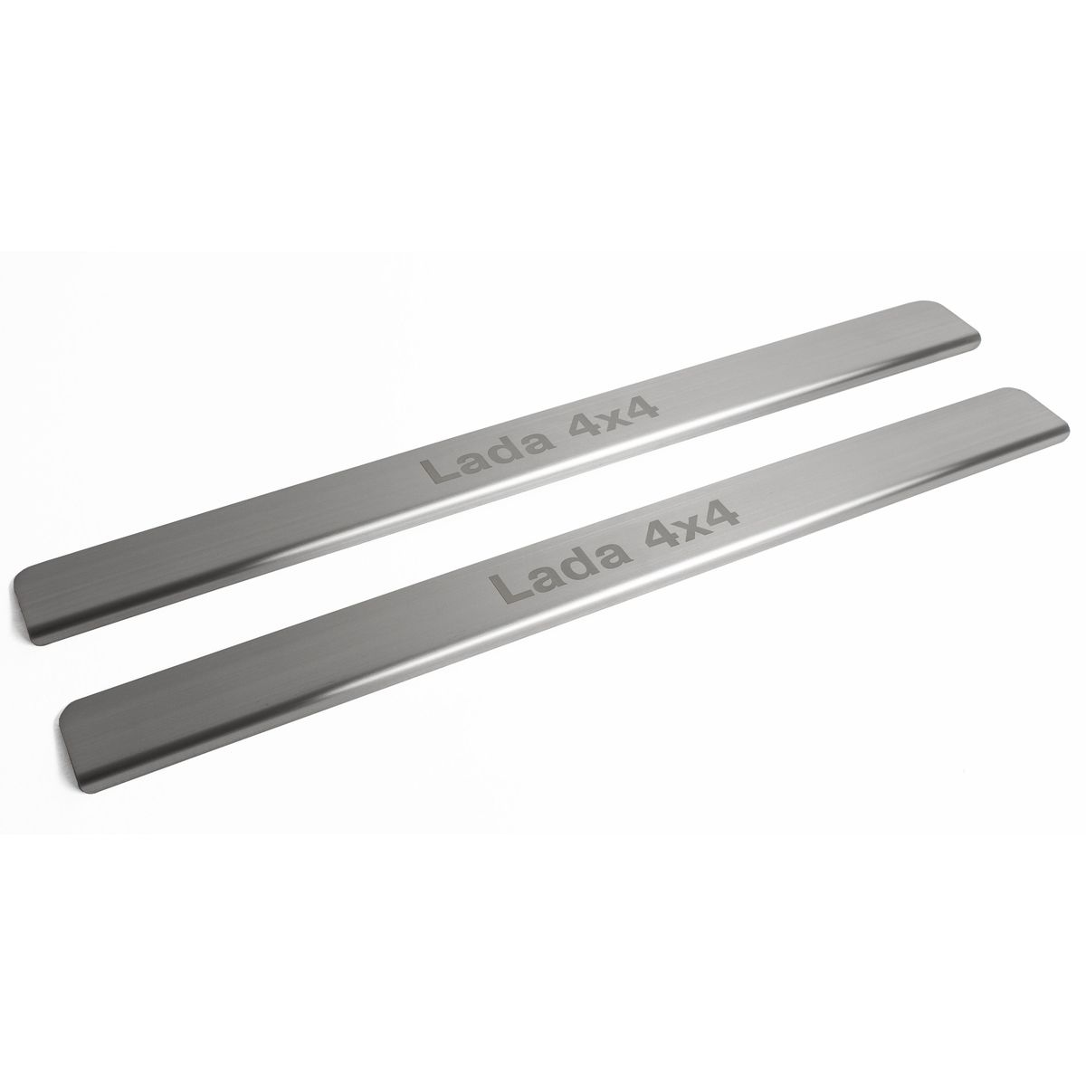 Chrome door sill Rival NP.6004.3 for Lada 4x4 3-дв sill rival np 4703 3