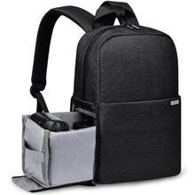 Dslr mochila para câmera digital, mochila à prova d água para câmera digital canon, nikon e sony, com lentes fotográficas