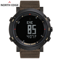 Мужские спортивные цифровые водонепроницаемые часы красочные спортивные часы бег плавательный альтиметр барометр компас погода Северная