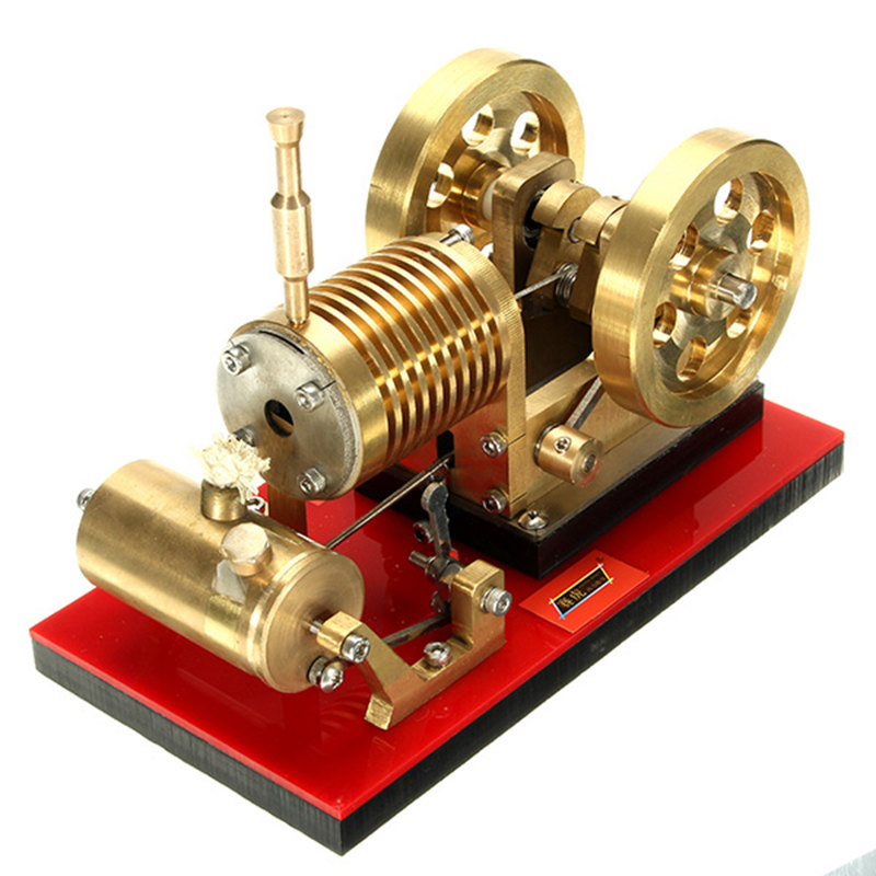 SH-02 Stirling Engine Model Educational Discovery Toy Kits Educational Toy Gift For Children Kits diy low temperature stirling engine educational puzzle toy kit silver