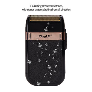 Image 4 - Alternativo Rasoio elettrico per Gli Uomini Doppia Lama Senza Fili Impermeabile Rasoio USB Ricaricabile della Macchina Da Barba Barbiere Trimmer 31