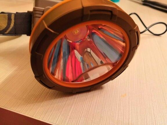 Faróis de LED Bateria Potência Brilhante