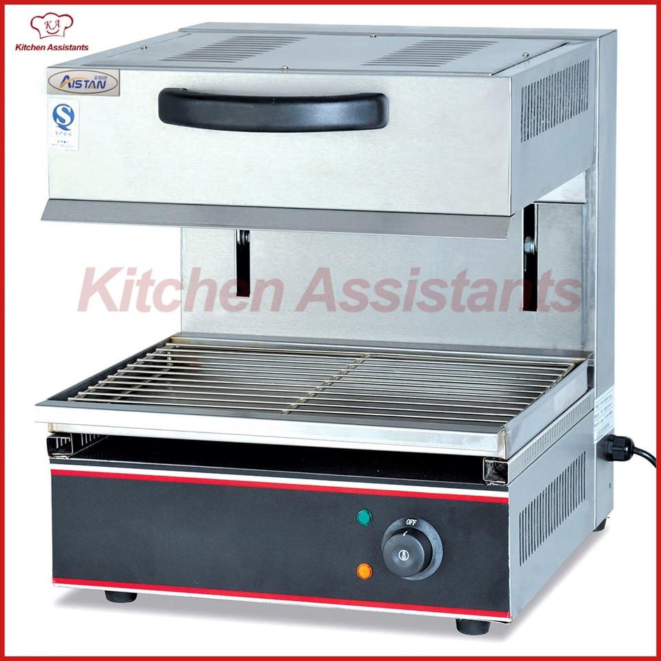 Grille de salamandre électrique commerciale EB600 pour équipement de barbecue