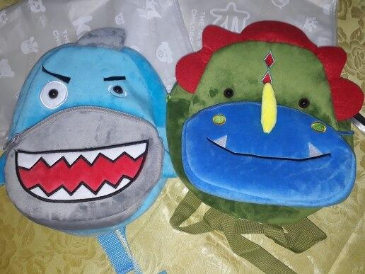 Cartoon Rainbow Unicorn Soft Plush Bags photo review