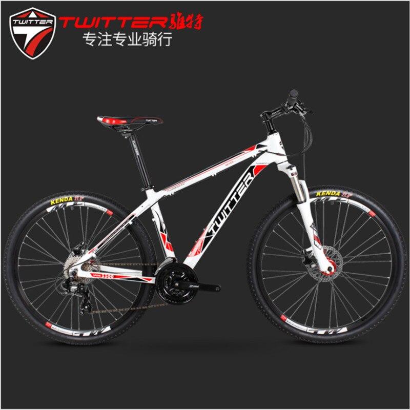 Yate TH3300 XC Hilo vtt 24 vitesses freins à double disque 27.5 pouce en alliage d'aluminium à vitesse variable vélo en alliage d'aluminium