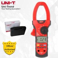 UNI-T ut207/ut208/ut209 1000a verdadeiro rms medidor de braçadeira digital; amperímetro ac/dc  resistência/frequência/teste de temperatura