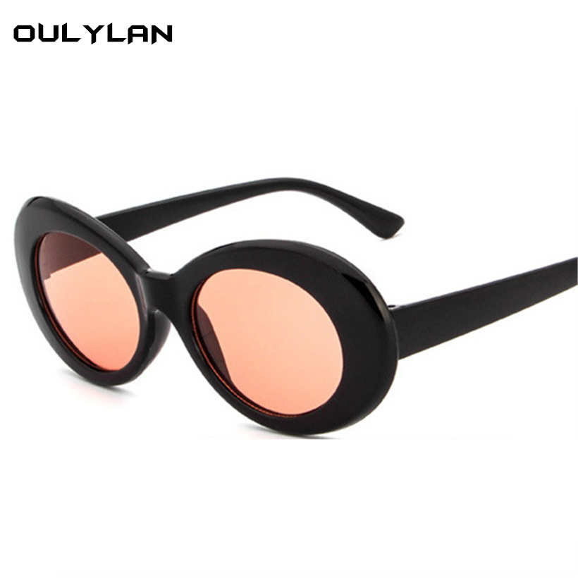 231f3a9553 Oulylan Clout Goggles NIRVANA Kurt Cobain Glasses Round Sunglasses Men  Brand Designer Vintage Sun Glasses Shades for Women-in Sunglasses from  Apparel ...