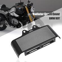 Black Aluminum Mesh Radiator Guard Cover Grille Oil Cooler Bezel Protector For BMW R Nine T R9T 2014 2015 2016 2017 2018 2019