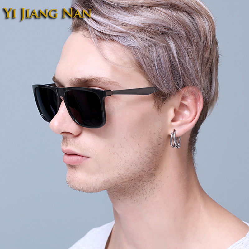 Yi Jiang Nan Brand Design Classic Fashion Alloy PC Full Rim Sunglasses Polarized Sunglasses Men Women